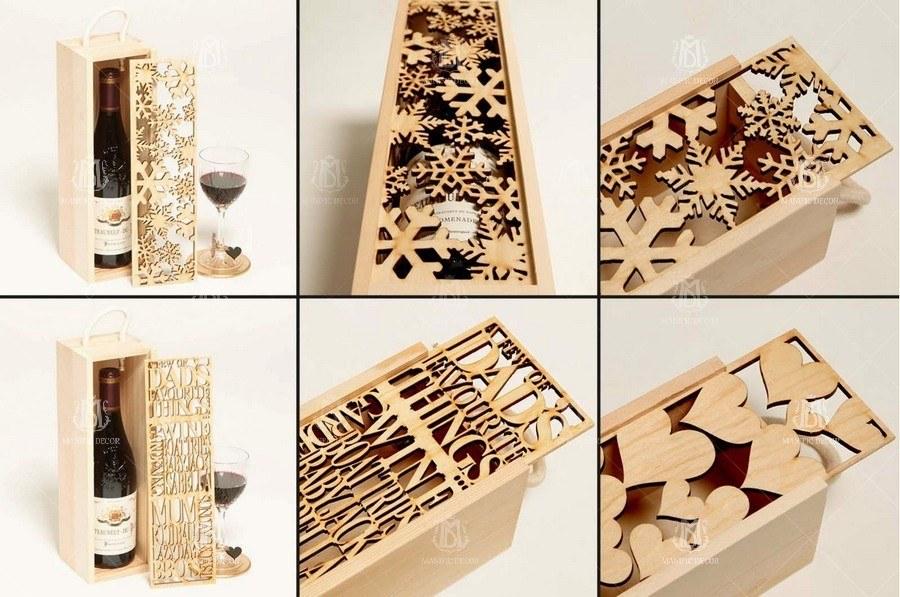 Оригінальні коробки для вина