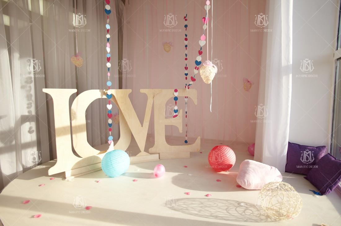 Ідеї декору до св.Валентина