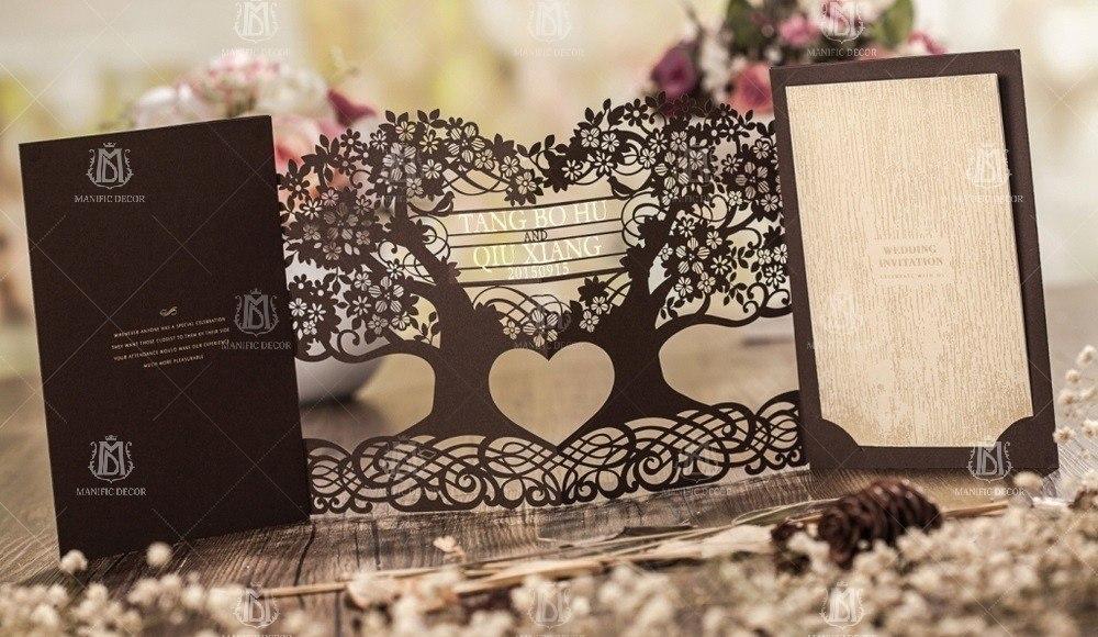 Запрошення та листівки на весілля