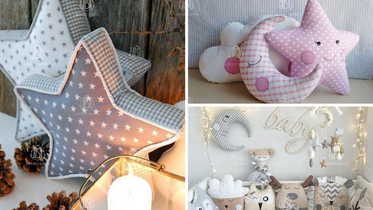 Вироби з текстилю, подушки, іграшки з фетру