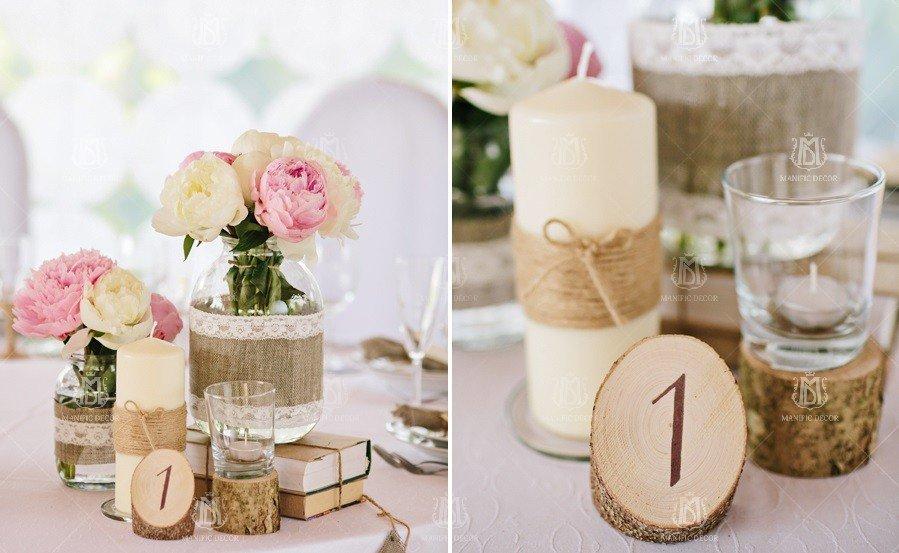 Декорування столу гостей