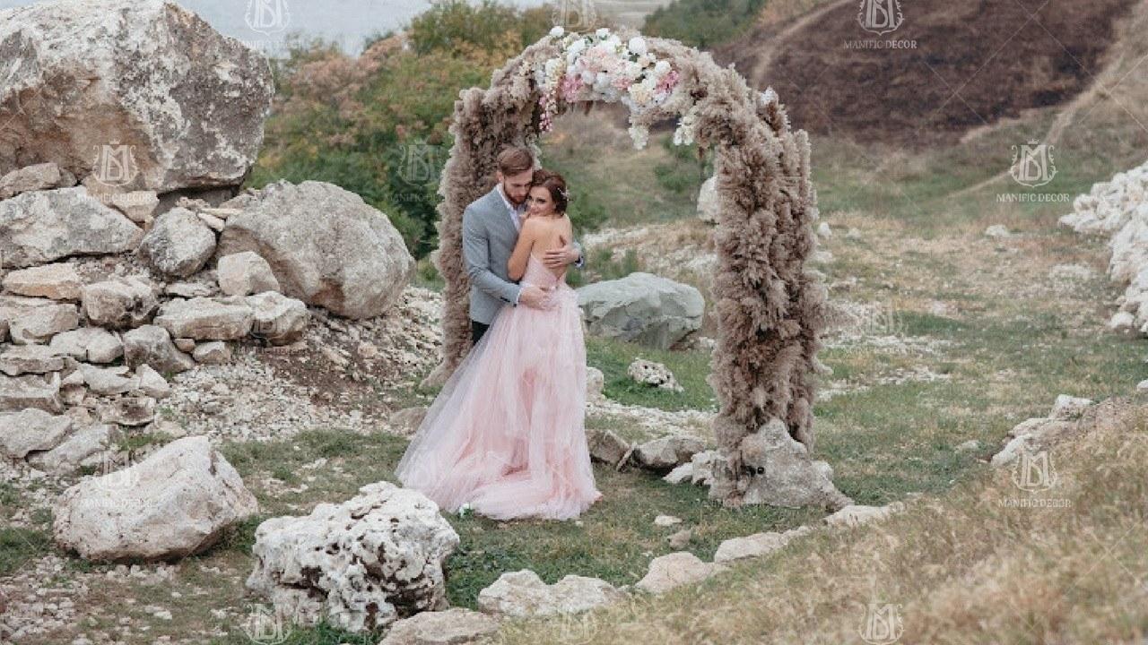 Декор весільної арки